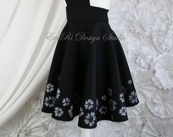 Designer Hand painted Prom Special occasion Dress