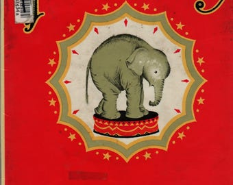 The Circus Baby A Picture Book - Maud and Miska Petersham - 1950 - Vintage Kids Book