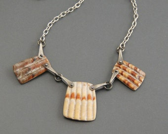 SALE!  40% off Pinned Shell Necklace style1