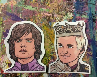 Tyrion and Joffrey Sticker Pack