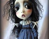 Loopy Southern Gothic Goth Steampunk Art Doll Sassy Darla