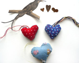 Mother's Day Handmade Hearts Retro Valentines Gift Folk Primitive Art (4)