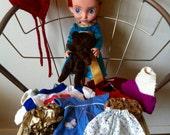 Disney Animators Merida Doll and Full Wardrobe + Floppy Bear