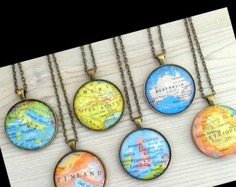Map PENDANT, CHOOSE your country, to Keep a  Memory Alive