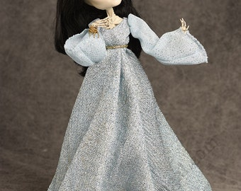 Princess Rosalind - Monster High Skelita ooak Repaint and Redress by awsumgal