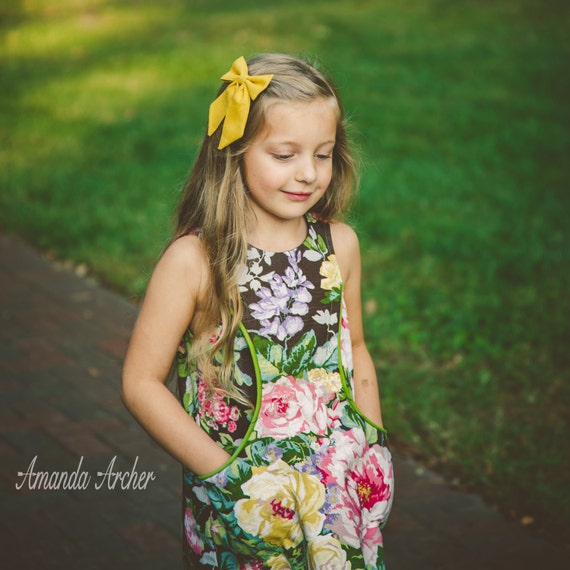 Meadowood Pocket Dress, Toddler and Girl Sizes