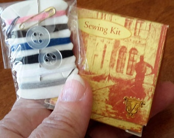 Vintage Emergency Sewing Kit