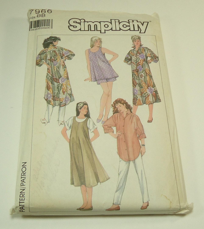 Simplicidad maternidad Go-por todas partes coser fácil tirar-en ...