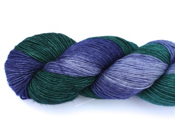 Paris--hand dyed sock yarn, BFL and nylon, (464yds/100gm)