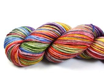 Daydream--hand dyed worsted weight, merino superwash (218yds/100gm)