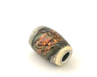 Lampworked Glass Bead