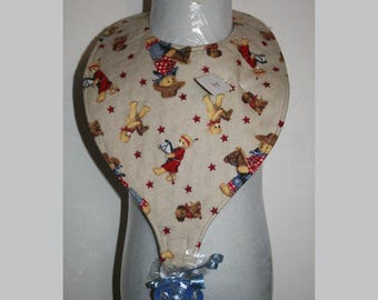 "Baby Bibs, Pacifier Bibs, Bibs with Pacifier, Bibs, Pacifier, "" Cowboys"""