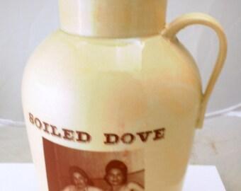 NSFW Soiled Dove pitcher handmade