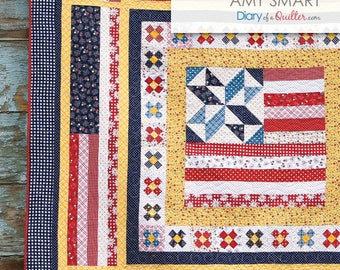 Land That I Love - Medallion Quilt - PDF PATTERN
