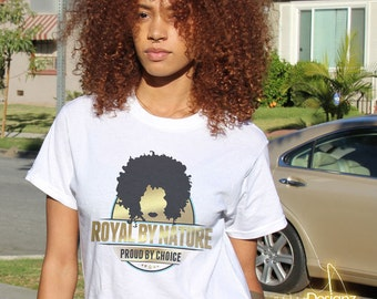 Royal by Nature Women's Graphic Tee