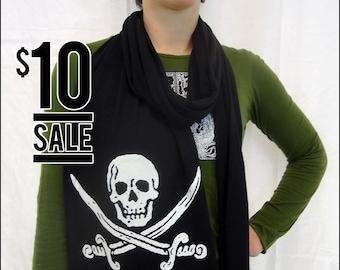 10 Dollar Sale-- Glow in the Dark Pirate Scarf