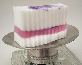 Violet Blossom Goat Milk  Soap