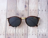 VINTAGE | Cat Eye Tortoise Sunglasses | Deadstock Sunglasses | Gray Lenses | SG1277