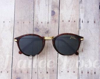 VINTAGE | Cat Eye Tortoise Sunglasses | Deadstock Sunglasses | Gray Lenses | SG1277