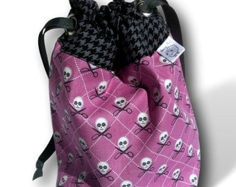 Pirates are Crafty - A One Skein Project Bag for Knitting or Crochet