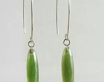 Big Sur Jade Dangle Earrings