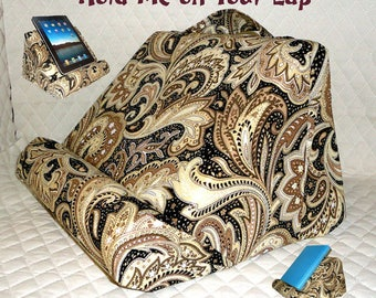 IPad / Book pillow Stand / Made For All Your Lap Reading / Personalize It With The Fabric You Choose #ReadCliner #BookPillow