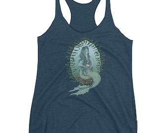 Original Mermaid Artwork | Mermaid | Fantasy | Racerback | Yoga | Pilates | Workout