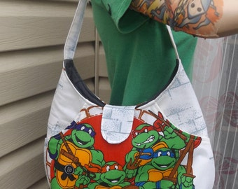 Teenage Mutant Ninja Turtle  Shoulder Bag  Vintage 90s  TNMT