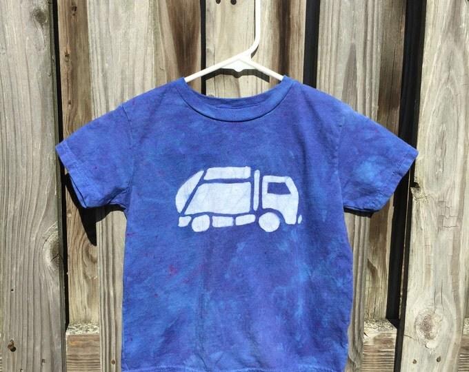 Garbage Truck Shirt, Kids Truck Shirt, Boys Garbage Truck Shirt, Blue Truck Shirt, Girls Truck Shirt, Boys Truck Shirt (4/5)