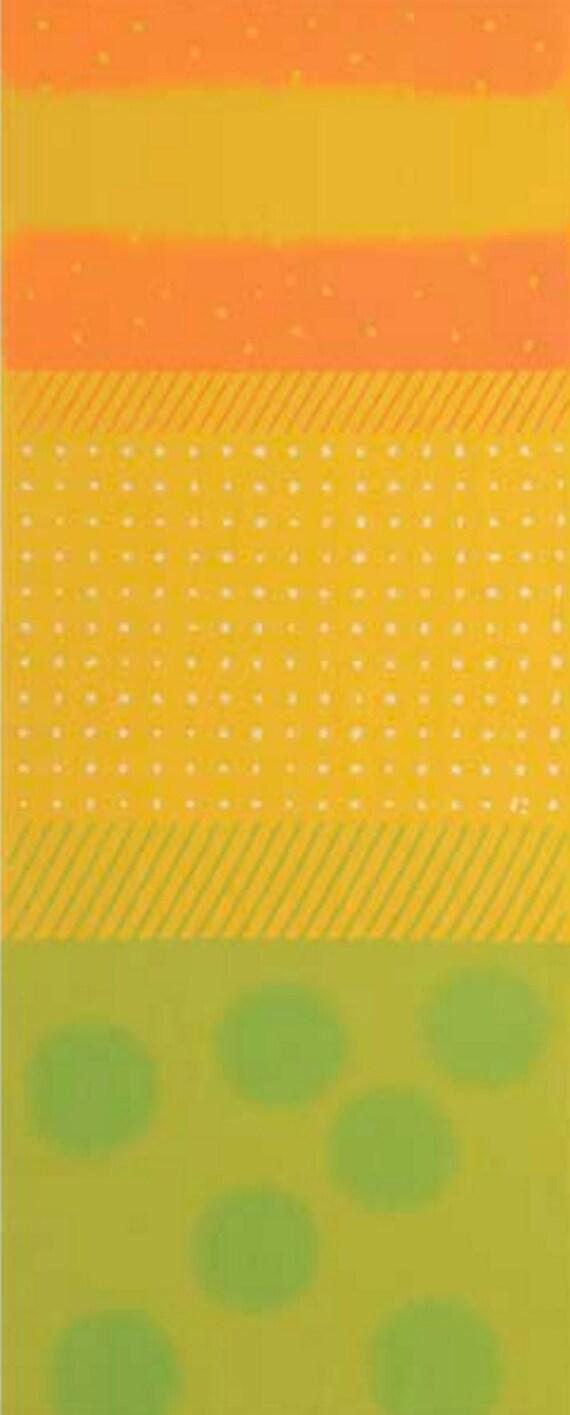 hnliche artikel wie japanisches tenugui handtuch baumwoll stoff mango himbeere dot. Black Bedroom Furniture Sets. Home Design Ideas