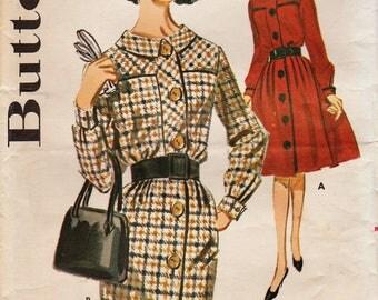 Butterick 2458 / Vintage Sewing Pattern / Dress / Size 14 Bust 34
