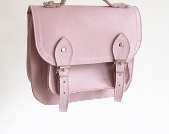 Bag number 3 Vegan non-leather satchel shoulder strap (Handmade to order)