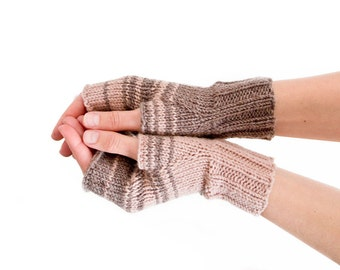 Womens Gift - Womens Gloves, Hand Knitted Gloves, Unique Fingerless Gloves, Unique Gifts For Sisters