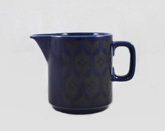 Vintage Creamer Hornsea 'Blue Heirloom' England