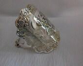 Antique Spoon Bracelet   8 inches