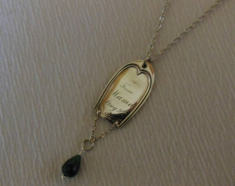 From Mama 1865   Antique Sterling Silver Necklace