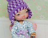 Hat for Irrealdoll Lati Yellow Pukiefee Crochet Purple Violet