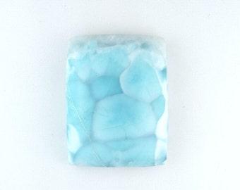 Larimar  Cabochon ~ Larimar Gemstone ~ Blue Larimar ~ Natural Larimar ~ Designer Cabochon ~ Natural Gemstone Cabochon ~ Jewelry Making