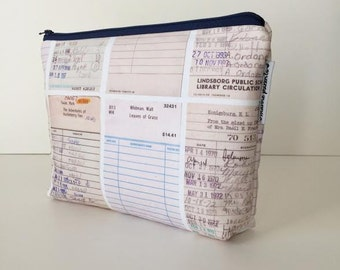project bag -- library card