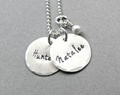Personalized Name Necklace, Personalized Jewelry, Personalized Mothers Necklace, Mothers Jewelry, Personalized Necklace, Sterling Silver