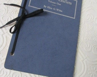 Notebook Leaflets, Volume One by Ellen G. White - Vintage Book Study of Church and Religion 1945