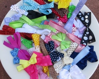 Toddler Girl Hair Bow Set, Small Hair Bows Toddler, Toddler Girl Hair Clips for Girl, Toddler Barrettes, Hair Clip Bow, Toddler Hairbows