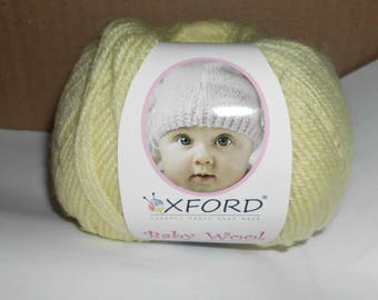 Oxford Baby Wool Yarn   Color=  5 To Choose From