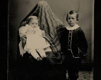 Hidden Mother Tintype - The Best!