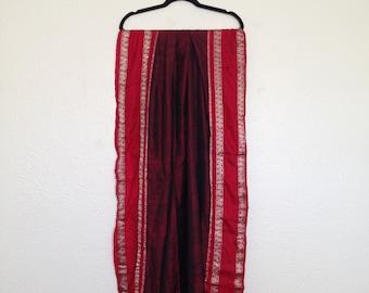 Gorgeous Red Vintage Sari