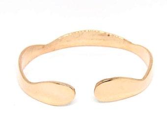 Copper Bracelet, Cuff, Bangle, Women, Men, Teen, Copper Jewelry BLB 79