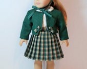 "RESERVED SPECIAL ORDER -- 1950s Train Station 4-Piece Ensemble for 18"" Dolls"