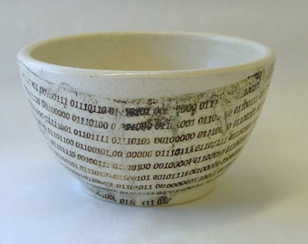 Binary Tears in Rain Lithographed Bowl