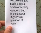 the answer it gives... - PHOTO LANDSCAPE ZINE