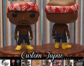 Tupac - Custom Funko Pop